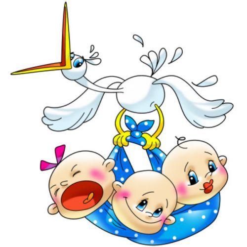 Поздравление с рождением дочерей тройняшек